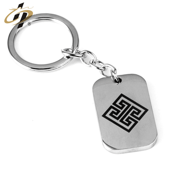 Custom High quality zinc alloy ancient gold silver black metal keychain with logo