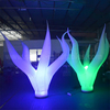 led lighting inflatable seaweed stage decoration backdrop for party