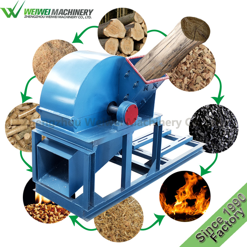 Weiwei multi-function wood hammer mill corn cob grinder waste crusher for <strong>pellet</strong>