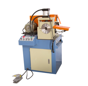 Low price metal solid bar chamfering machine latest pipe chamfer high quality double rod