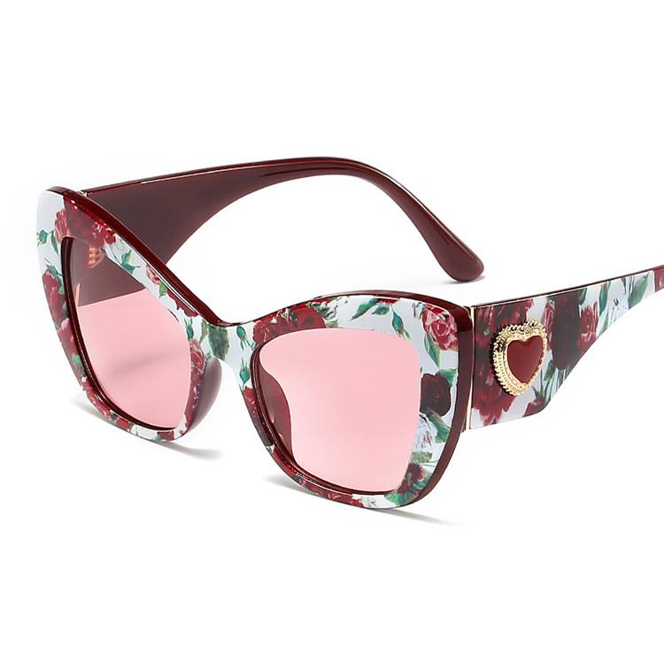 Cat Eye Fashion UV400 Luxury Cheap retro Sunglasses 2019, Mix color or custom colors