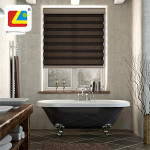 China Supplier Day And Night Blinds Horizontal Dual Zebra Roller Shades Blackout Jacquard Fabric Zebra Curtain