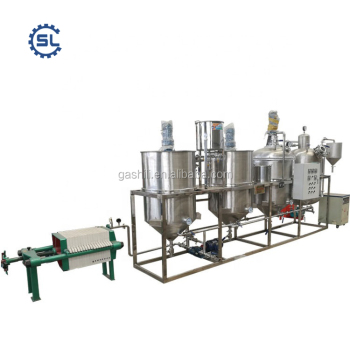 refined soybean oil plant with reasonable price