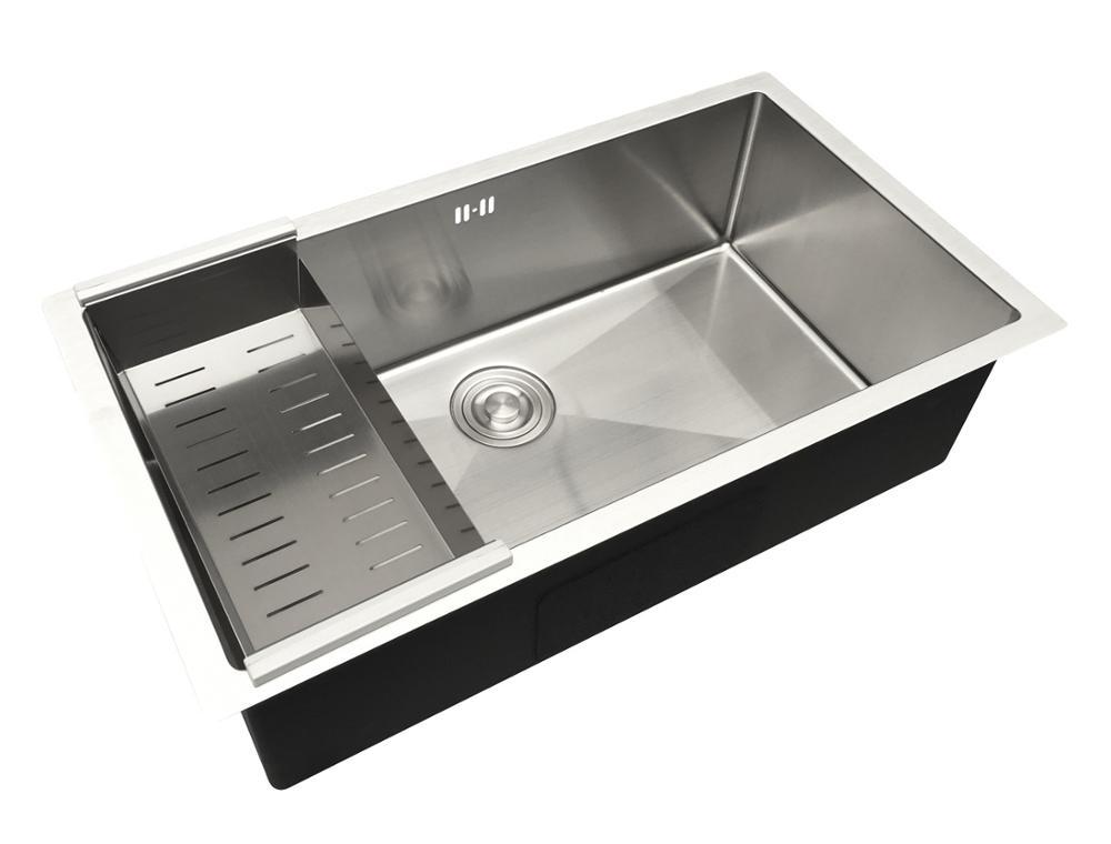 JOYODO Modern single bowl 304 stainless steel kitchen sink