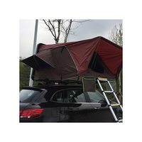 Travelling Tour Foldable Car Awning Rooftop Tent Car