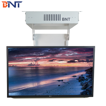 BNT Supply CE Approved  with Remote Control Ceiling Flip Down Motorized TV Lift