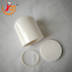 Zirconium Planetary 100cc High Performance Ceramic Containers With Lids Small Scale Ball Mill Porcelain Jar