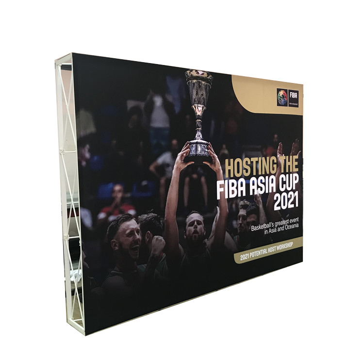 20ft 10ft Trade Show Pop Up Display Wall <strong>Stand</strong> in Aluminum
