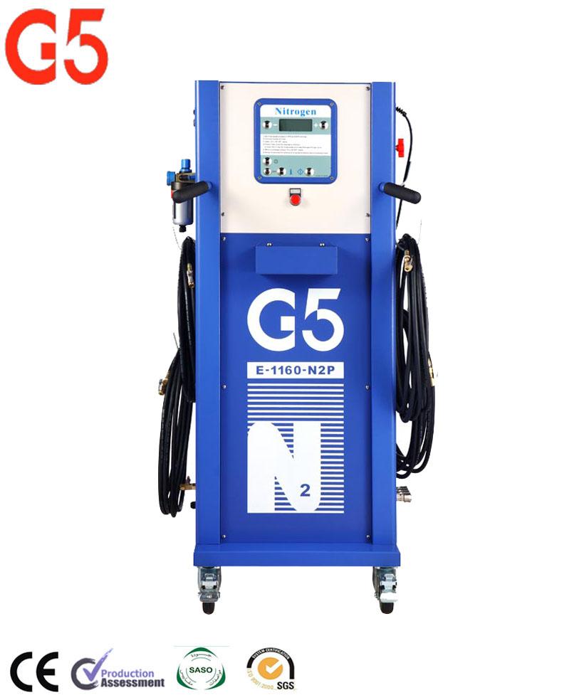 Inflador de nitrógeno para neumáticos, inflador Digital de presión para neumáticos, Inflador de neumáticos de nitrógeno de alta pureza, generador de nitrógeno G5 E1160N2P