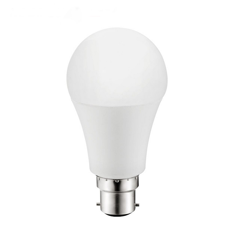 Factory Supply a60 e27 7w led bulb indoor lighting a60 bulb raw material a60 b22 bayonet cap