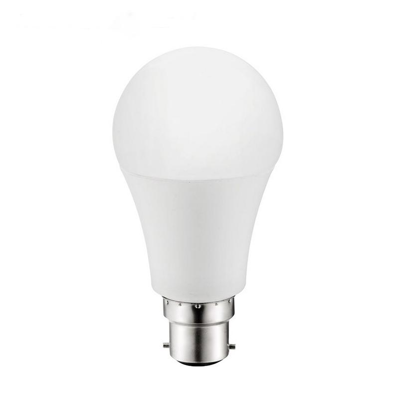 Factory Supply a60 e27 7w led bulb indoor lighting a60 bulb raw material a60 b22 bayonet cap