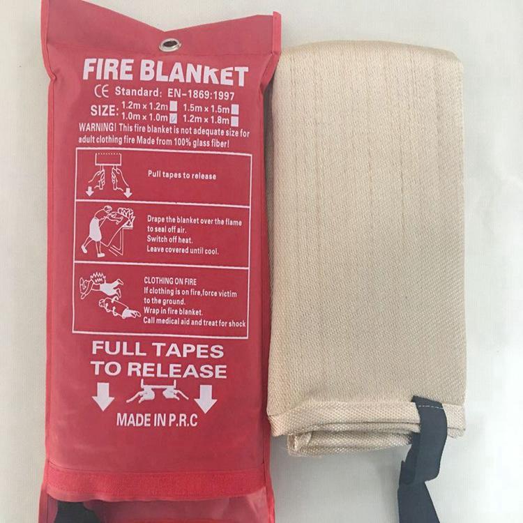 Welding fire blanket ht800 fiberglass cloth 1.5 x 1.5m
