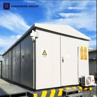 100kva 250kva 300kva 500kva 800kva 1250kva kiosa packaged compact transformer substation