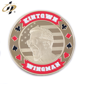Best quality Custom design your own logo metal game poker chips set for jeton