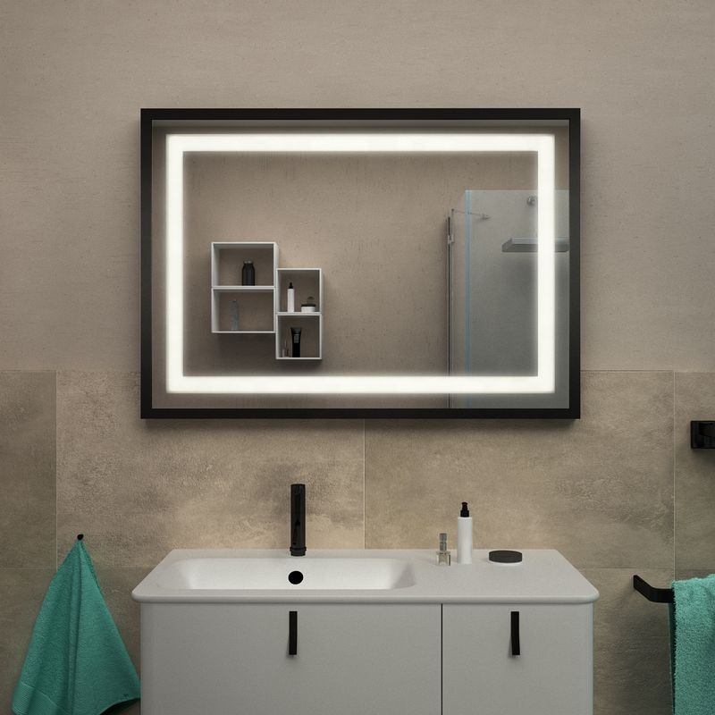 Guarantee quality High quality touch Backlit warm white led tubes mirror bathroom light