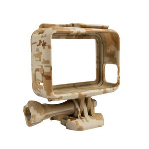 Free Shipping Protective Housing Case Cover Action Camera Camouflage Plastic Protection Border Frame Box for Go Pro Hero 5 Gopro