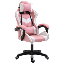 Workwell PC stühle leder rosa computer gaming stuhl mit rollen