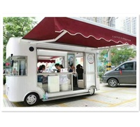2019 China famous manufacturer good reputation at home and abroad user friendly design electric mobile food cart/kiosk/truck