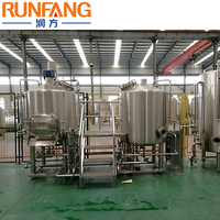 Fresh 1000l small 500l 2000l commercial China mini micro home industrial craft beer brewing equipment for sale micro