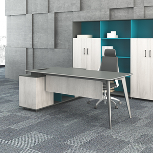Latest Luxury Boss Manager Executive Desk I shaped Simple Office Table Design