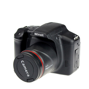 Image of max 12MP 720P mini dlsr camera with 4x digital zoom Telescopic digital camera video camera
