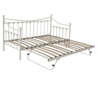 Hot !!! European style metal daybed / sofa cum bed , Sofa bed with guset bed
