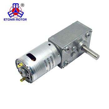 90rpm right angle gear motor 12v dc gear motor high torque electric worm gear motor