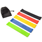 Wholesale 5 Levels Mini 100% natural Latex Exercise Fitness Band Resistance Loop