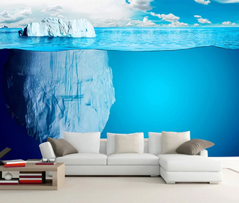 Creative Iceberg Sea View Wallpaper 3d Kids Beautiful Blue Ocean Scenery Wallpaper Mural Buy Iceberg Sea View Wallpaperblue Ocean Scenery