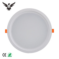 2019 New 7W 12W 15W 18W 24W integrated SMD ceiling antiglare LED round downlight fixture