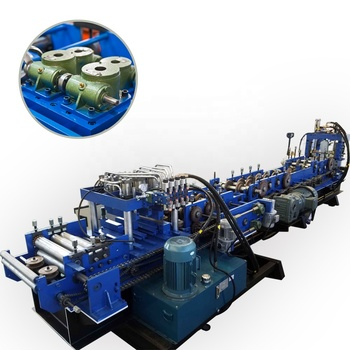 Metal Structure C Purlin Roll Forming Machine For Making c shape purlin roll former prices