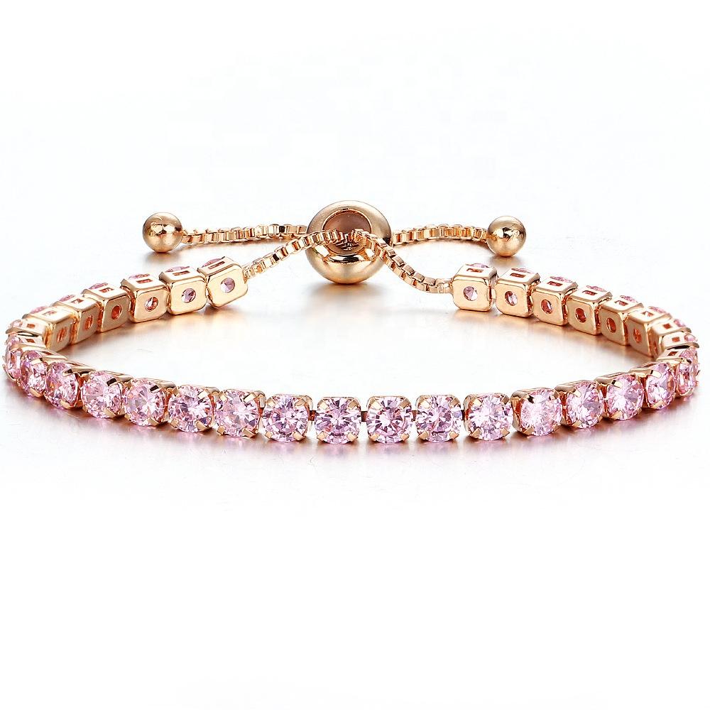 Hot Sale Adjustable Bracelet Zircon Paved Women's Fashion Crystal Bracelet фото