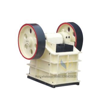hard stone crushing Jaw Crusher Machine made in China factory color red