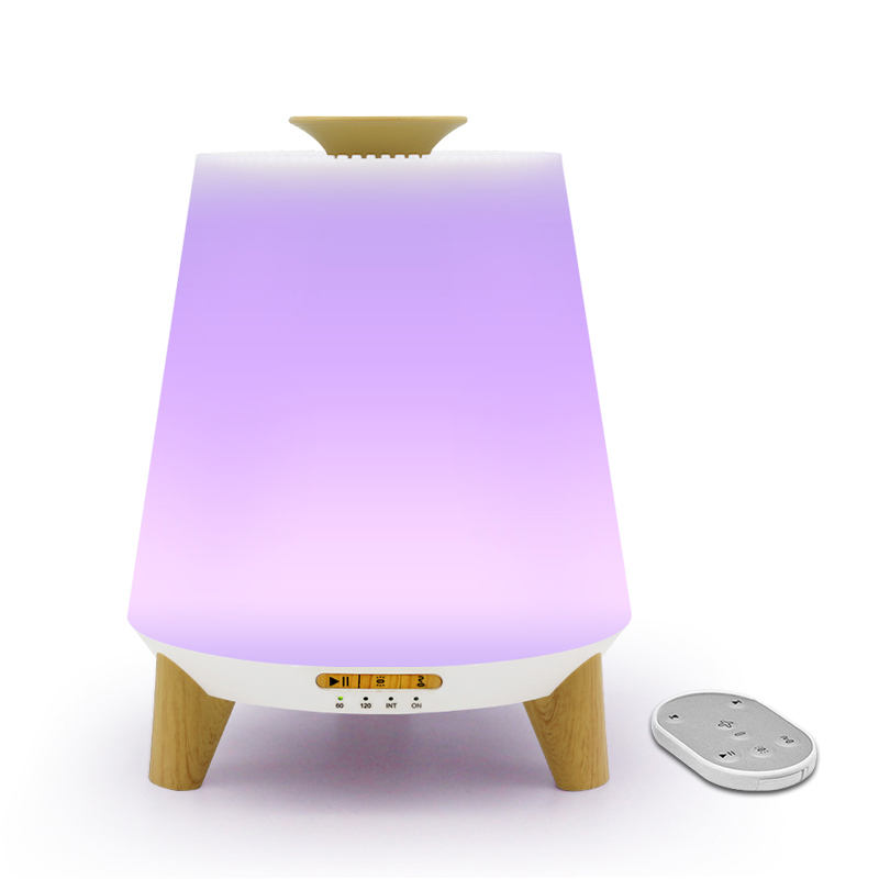 Wholesale 300ml home <strong>ultrasonic</strong> <strong>air</strong> <strong>humidifier</strong> with Bluetooth speakers colorful night light essential oil aroma diffuser