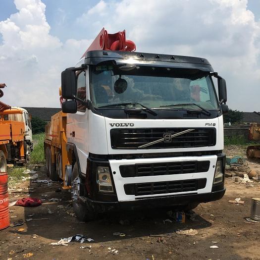 China Boom Concrete Pump Truck, China Boom Concrete Pump