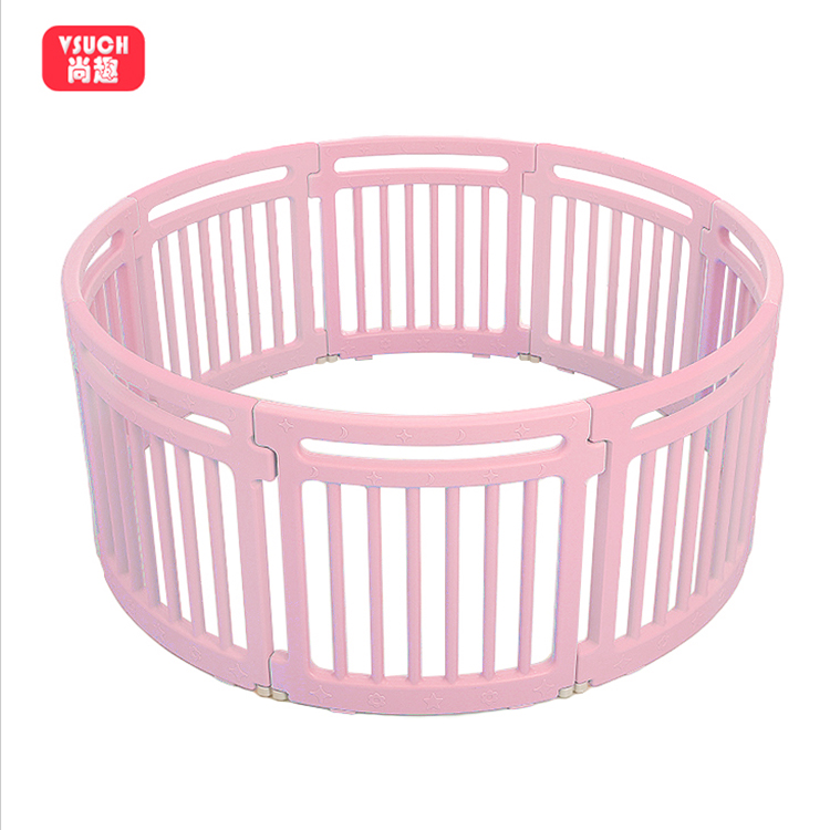 Safety Eco-Friendly Quality Kids Plastic Unique Fence Baby Folding Round Playpen