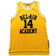 Free shipping Custom yellow #14 #25 movie basketball jersey for men