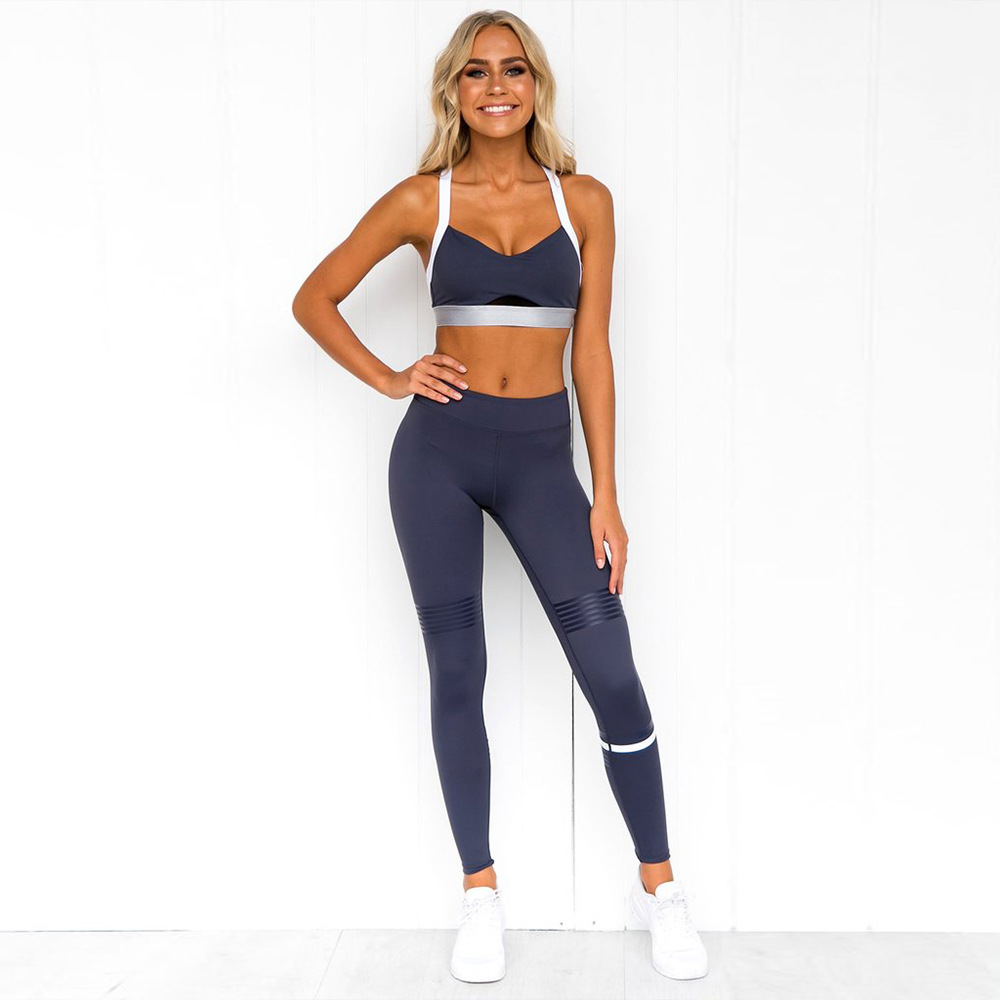 New Tights Women Workout Sport Fitness Gym Seamless Yoga Set фото