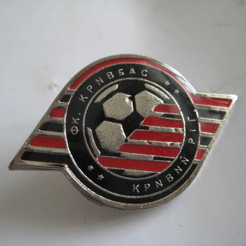 factory directly sale and custom made die cut metal medals,button pin badge with your own logo
