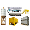 CE &ISO certificate container stainless steel hopper silo bolted-type cement silo manufac customization