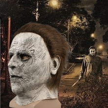 Hot-selling scary wit ghost michael myers latex halloween <span class=keywords><strong>masker</strong></span>