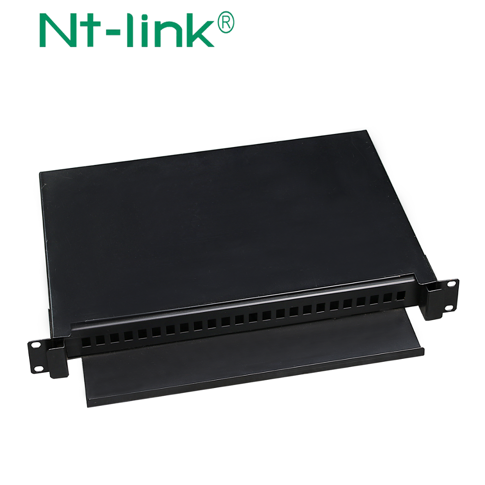 24/48 cores 1U 19inch Rack Mounted sliding Fiber Patch Panels(LIU)