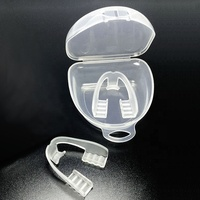 Factory Wholesale Silicone Anti Snore Mouth Piece Snore Stopper Teeth Grinding Mouth Guard