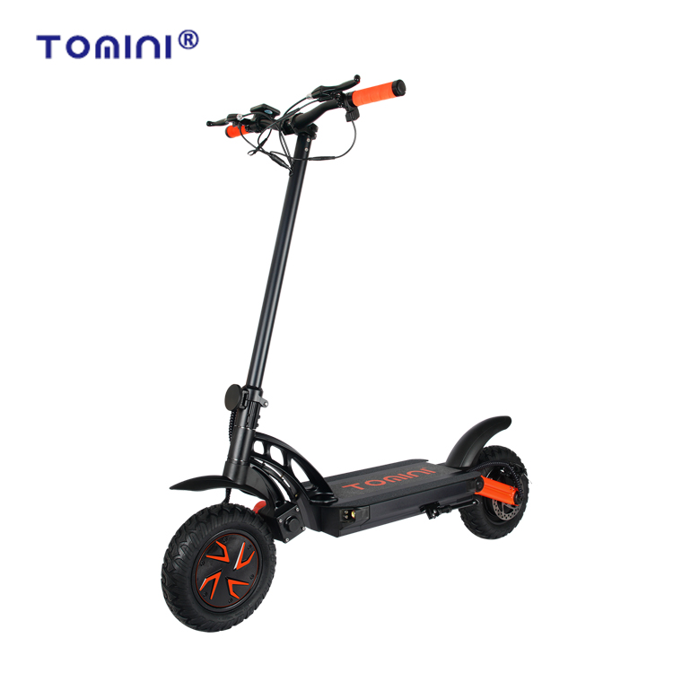 Wholesale Off road e-scooter 2000W Dual motor adult 2 wheel electric scooter, Black