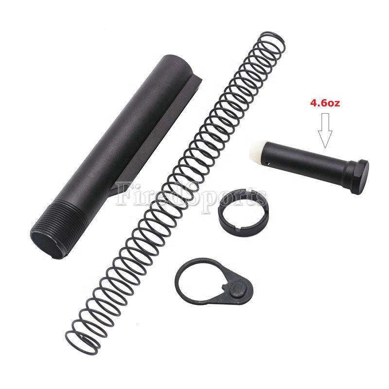 MTS2016--AR-15/M4  Carbine 6-Position Buffer Tube Kit With 4.6oz Carbine Buffer