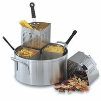 20 Quart Pasta Cooker Pot With 4 Dividers
