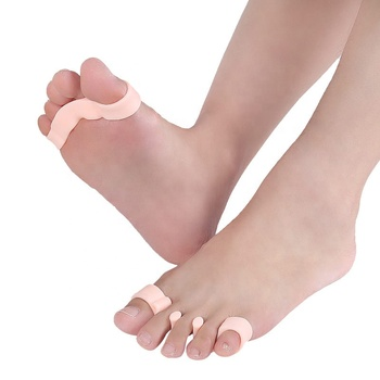 Pedicure Friendly Comfortable Silicone Toe Stretchers Toe Separators For Bunions And Fast Pain Relief
