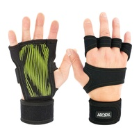 Hot Selling Cheap Fitness Weight Lifting Gloves Customized Workout Gym Gloves with Straps