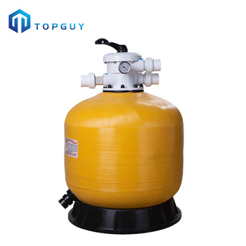 Factory direct supply fiberglass corrosion resistant swimming pool top-mount water sand filter
