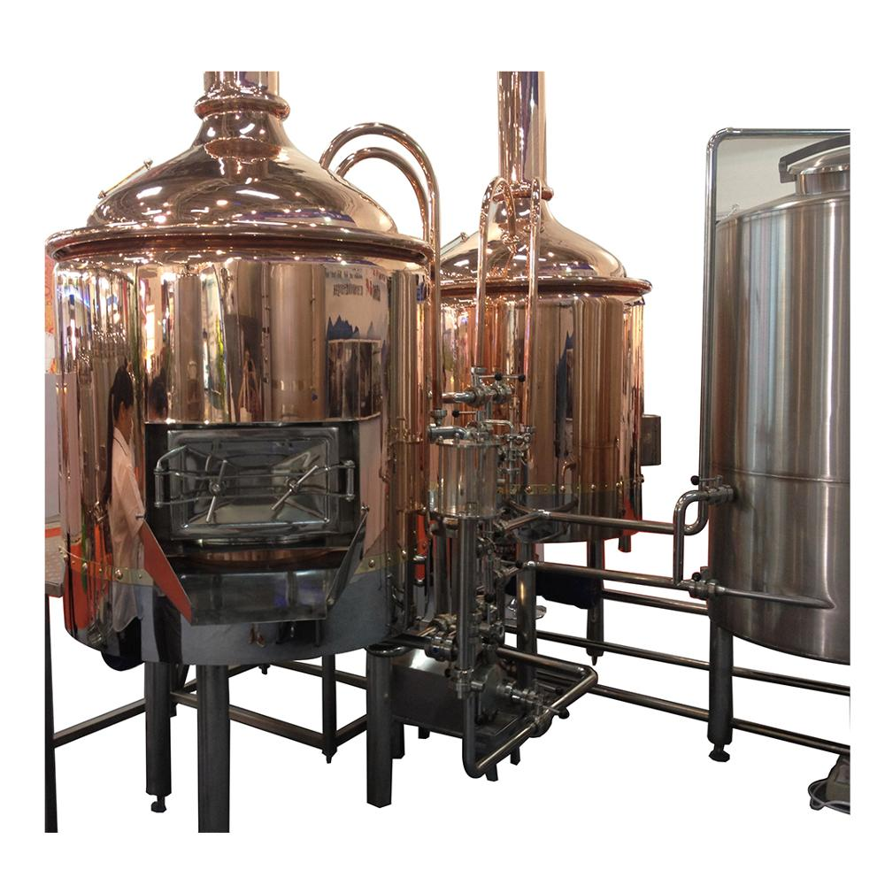 Commercial beer brewery equipment making craft beer for sale